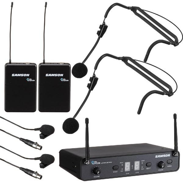undefined Système de Micros sans-fil Concert 288 Presentation Duo Lavalier/Headset Samson SWC288PRES-H