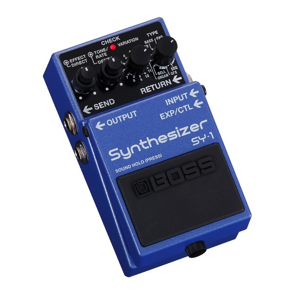 undefined Pédale synthétiseur guitare/basse BOSS SY-1