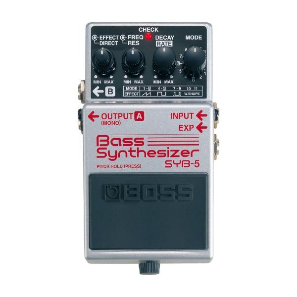undefined Pédale d'effet de basse Synthétiseur BOSS SYB-5