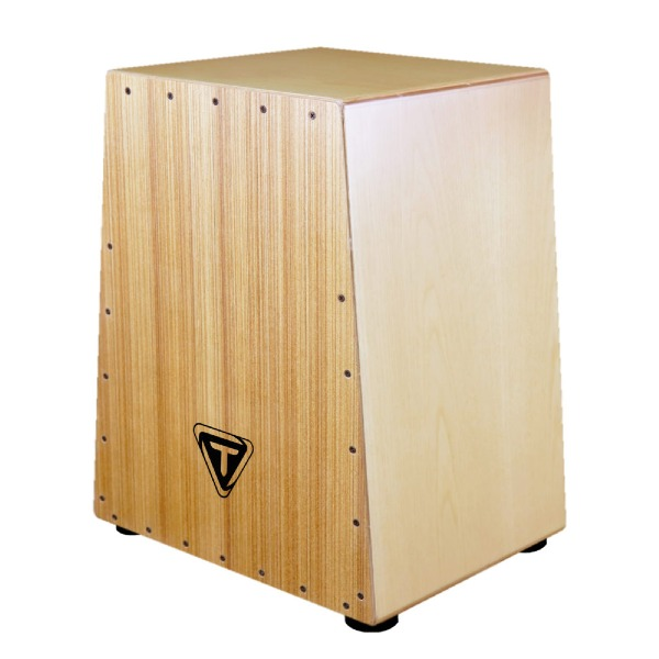 undefined Cajon serie Vertex zebrano Tycoon Percussion TKVX-Z