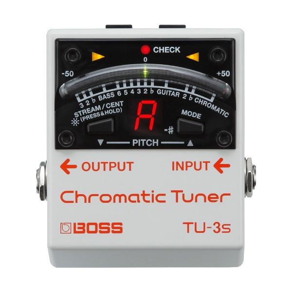undefined Accordeur chromatique format pédale mini BOSS TU-3S