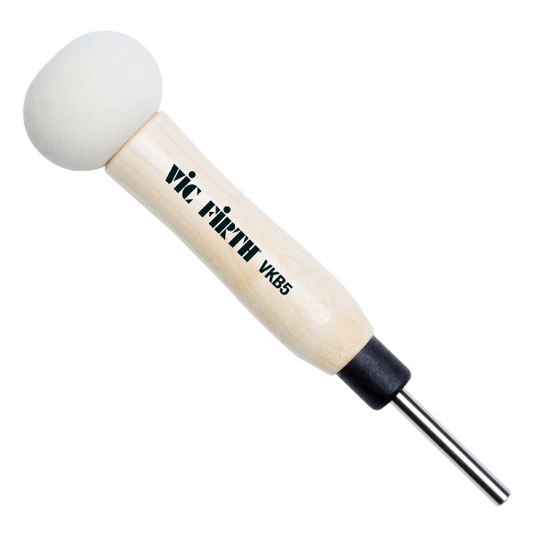 undefined Vic Firth VKB5 VicKick Wood Shaft Bass Drum Beaters pour grosse caisse