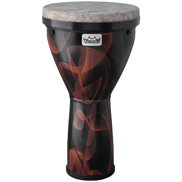 undefined Djembe Remo Versa Fiberskyn pré-accordé - Graphic Brown