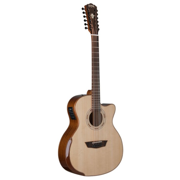undefined Guitare Acoustique Washburn Comfort Series 12-cordes - Fini Natural Gloss