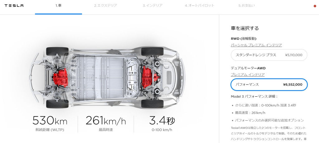 TeslaModel3,オーダー,札幌,北海道