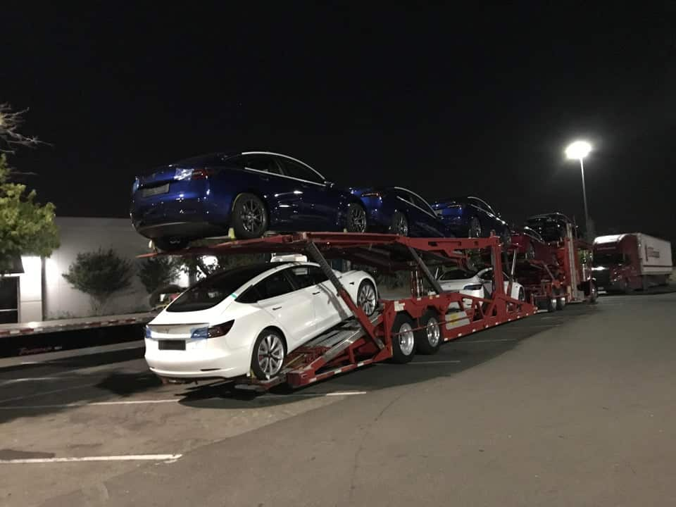 rhd model3 are ready to ship