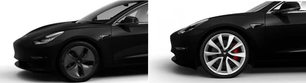 TESLA Model3 Performance Wheel
