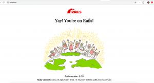 Rails6×Ruby2.6.3×Docker×Nginx×MySQLで開発環境を作る