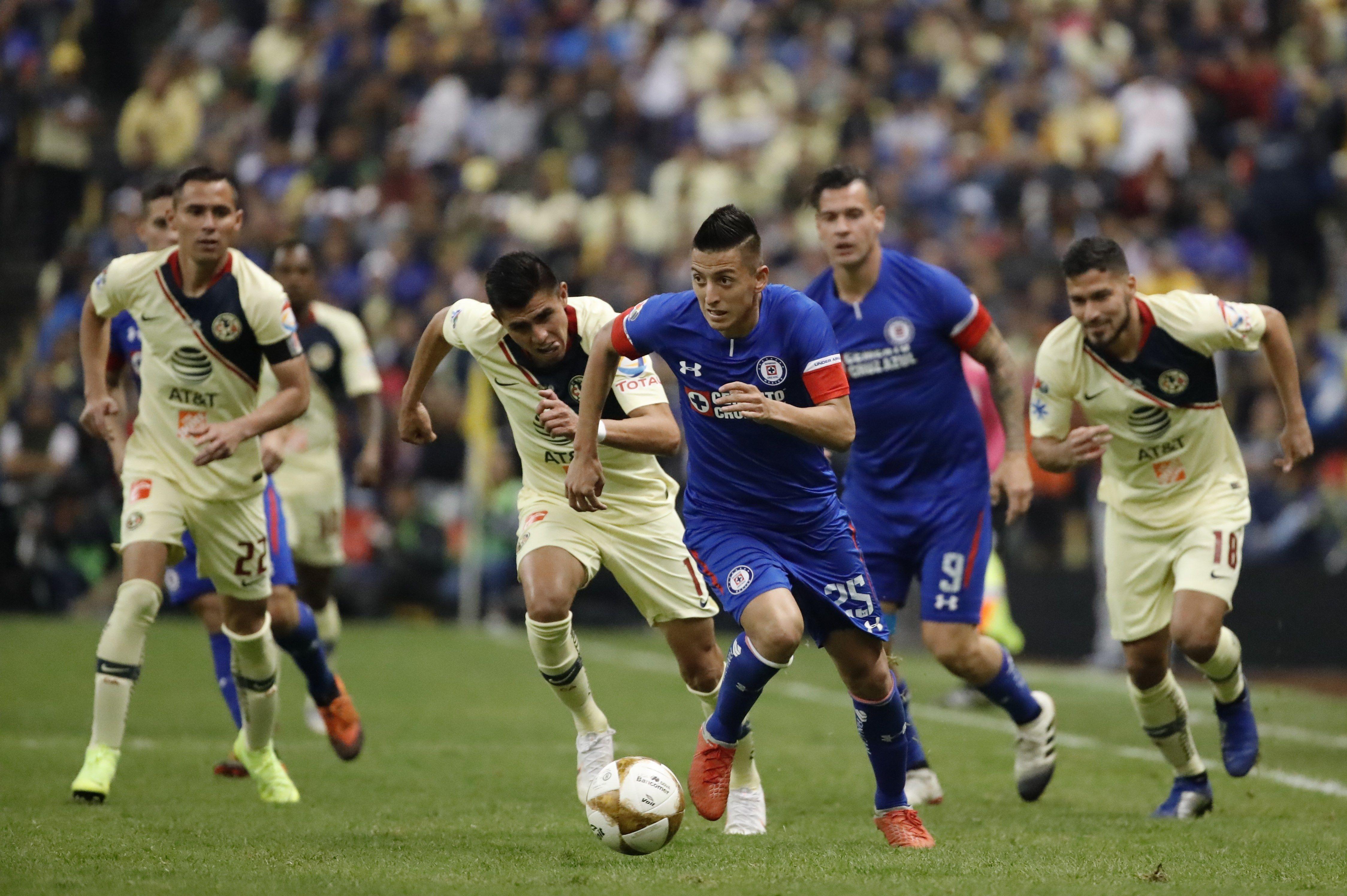 Aburrido empate en la ida de la Gran Final entre América y Cruz Azul