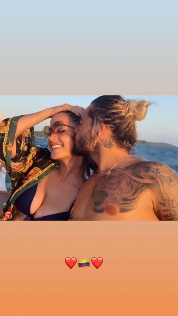 La novia de Maluma acapara la atención en Instagram por estas fotos