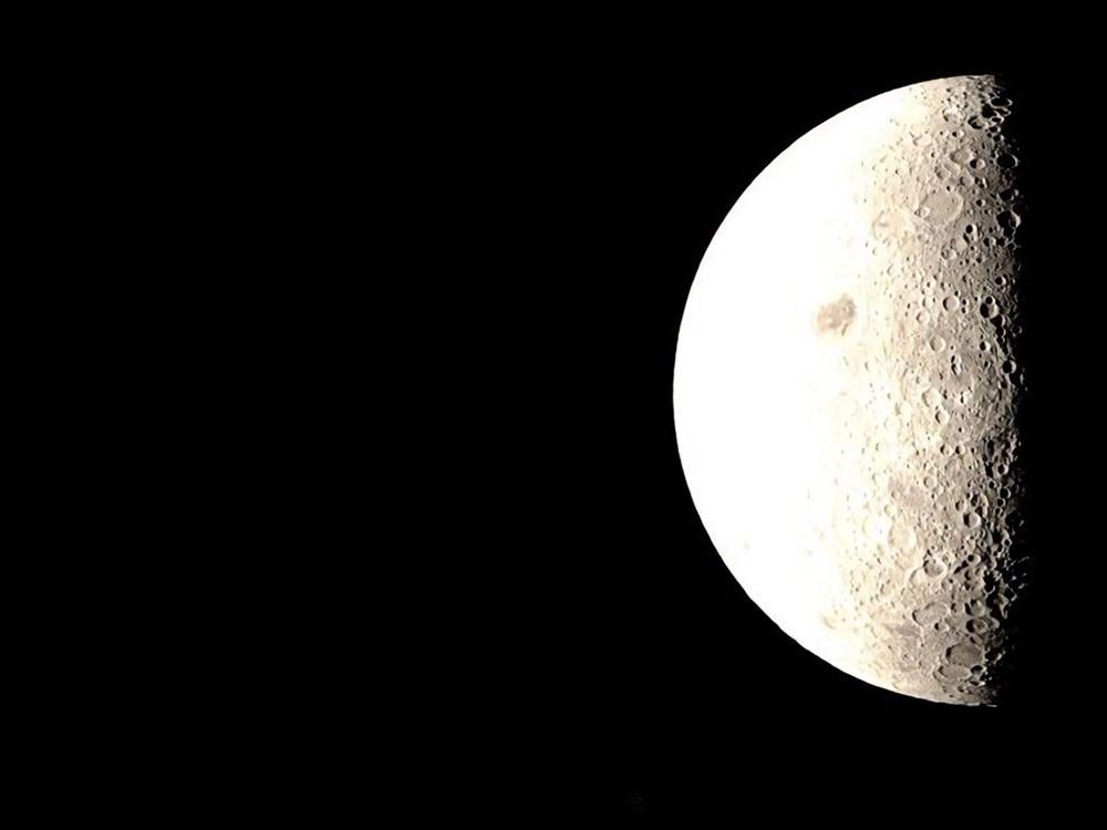 Espectaculares imágenes de la Tierra y la Luna, hechas durante la misión Chang'e-4