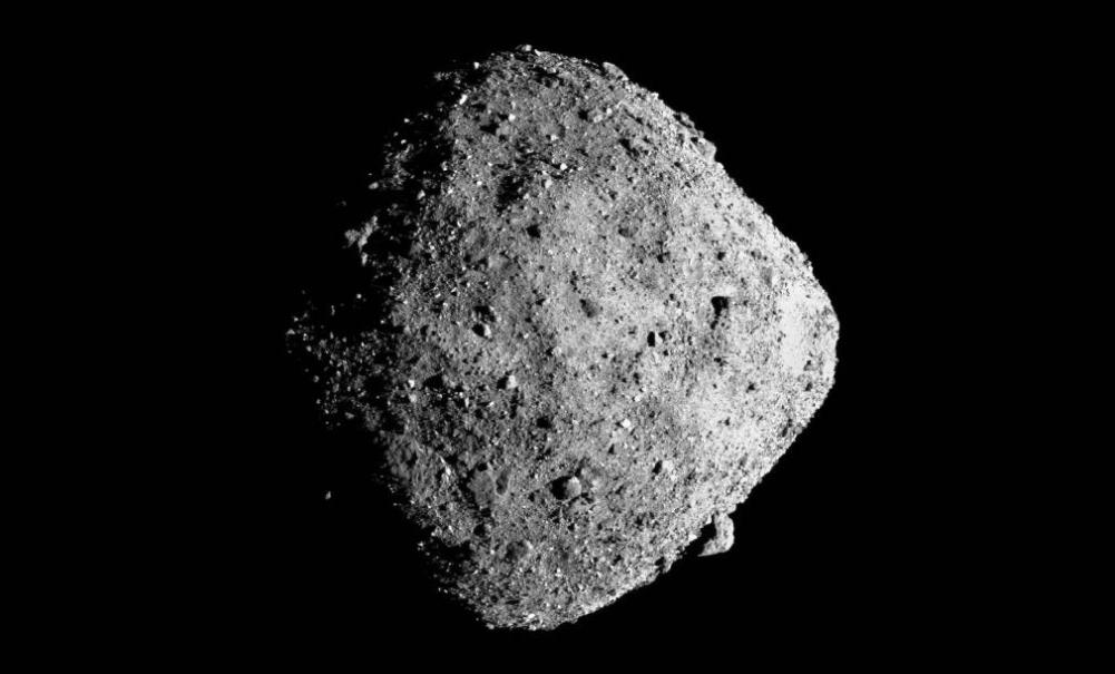 Difunden impresionante foto del asteroide Bennu