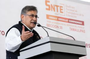 SNTE logra basificación de mil 200 maestros en Tamaulipas