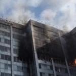 Levanta sospechas incendio en edificio de Conagua; se perdieron de fiscalización