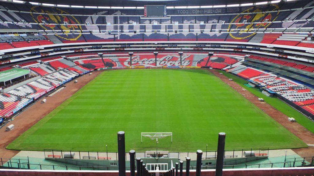 Volverán a cambiar pasto del Azteca para partido de la NFL