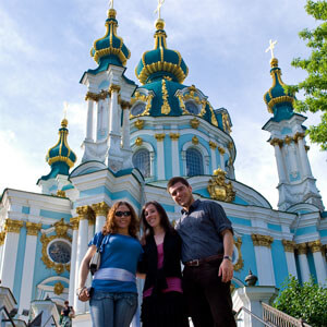 Russian Language in Kiev Photo Gallery