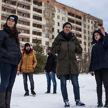 Ausflug nach Tschernobyl