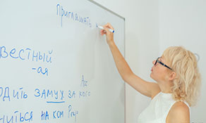 Learning Russian in Odessa