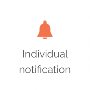 Individual Notification