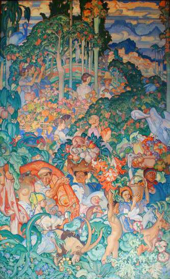 Sir Frank Brangwyn British Empire Panels, Canada, 609 x 396, 1926-1930, Glynn Vivian Art Gallery, Swansea