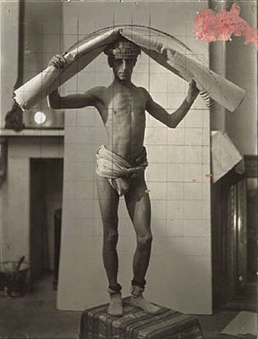 8. Sir Frank Brangwyn, Photograph of Marco Yafrate, argentique film , 20.8 x 16.3, around 1927, coll. Paul Cava, Philadelphia.jpg