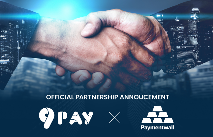 OFFICIAL PARTNERSHIP ANNOUCEMENT: 9PAY and PAYMENTWALL
