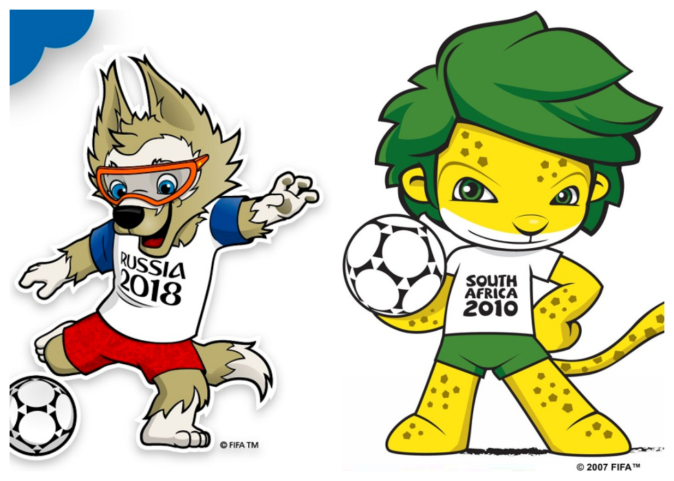 From 1966 To 2018 World Cup Mascots Throughout The Years Nilefm Egypt S 1 For Hit Music