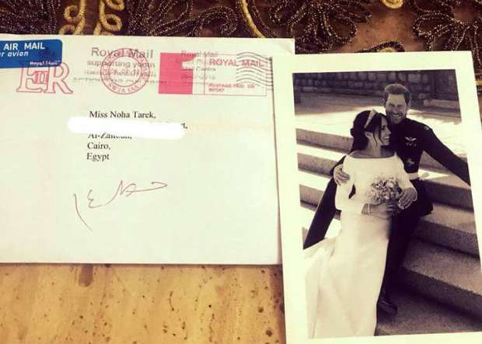 Egyptian Receives Letter From Royal Family After Sending Wedding