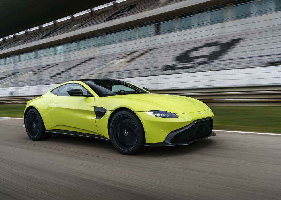 Egypt Got The New 2019 Aston Martin Vantage Before Europe Nilefm