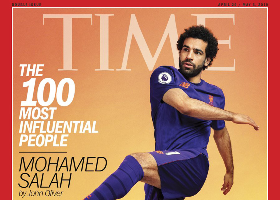 768c7f2a7 Mo Salah Champions Women s Equality In  TIME 100  Cover Story ...