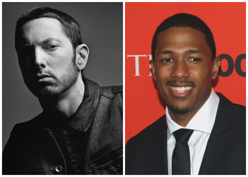 Eminem Nick Cannon Feud Heats Up With An Exchange Of Diss Tracks
