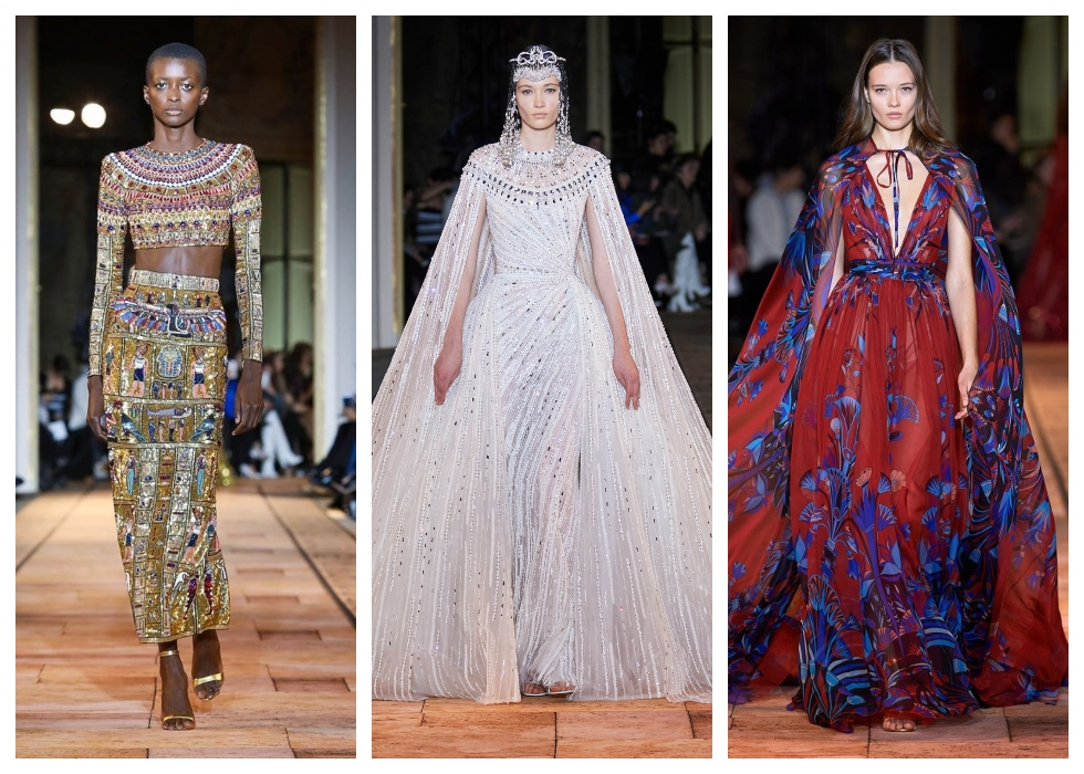 Zuhair Murad Debuts Stunning Ancient Egyptian Inspired Collection At Paris Couture Week 2020 Nilefm Egypt S 1 For Hit Music