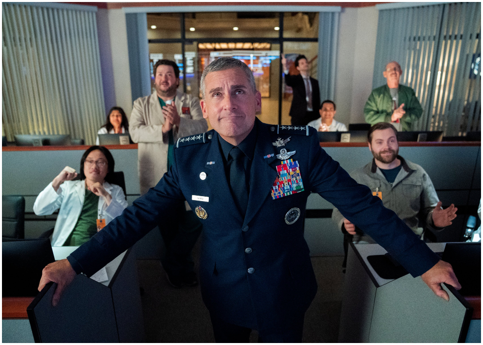 """Netflix Reveals The Release Date For Its Upcoming Comedy """"Space Force"""" Starring Steve Carell & Lisa Kudrow"""