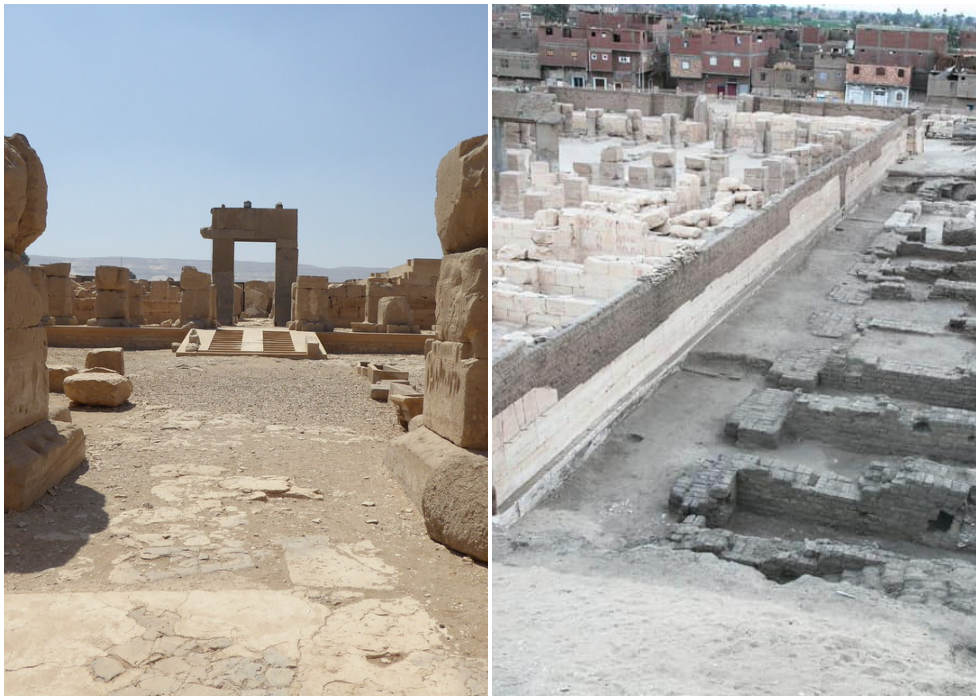 Ancient Egyptian Foundations & Storerooms Discovered In Abydos At Ramses II's Temple