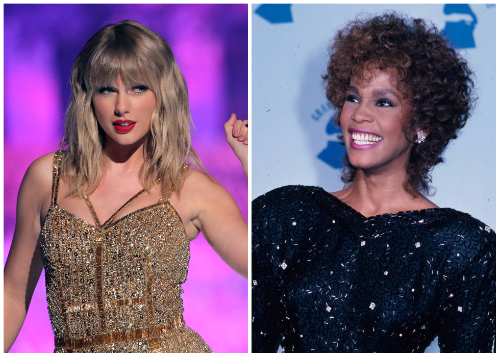 Taylor Swift Ties With Whitney Houston For Female Artist With Most Weeks At Number 1 In Billboard 200 S History Nilefm Egypt S 1 For Hit Music