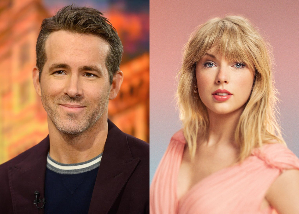 """Ryan Reynolds Uses Taylor Swift's """"Love Story"""" Re-recording In Hilarious Dating App Video Matching Satan With 2020"""