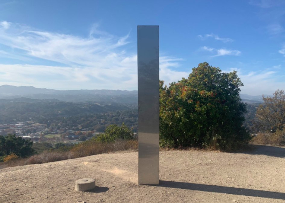 Third Monolith Found In California After Previous Two Disappear