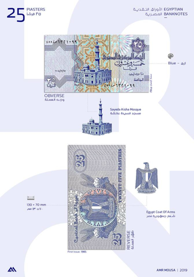 PHOTOS: Architecture Student Brings Egyptian Banknotes To