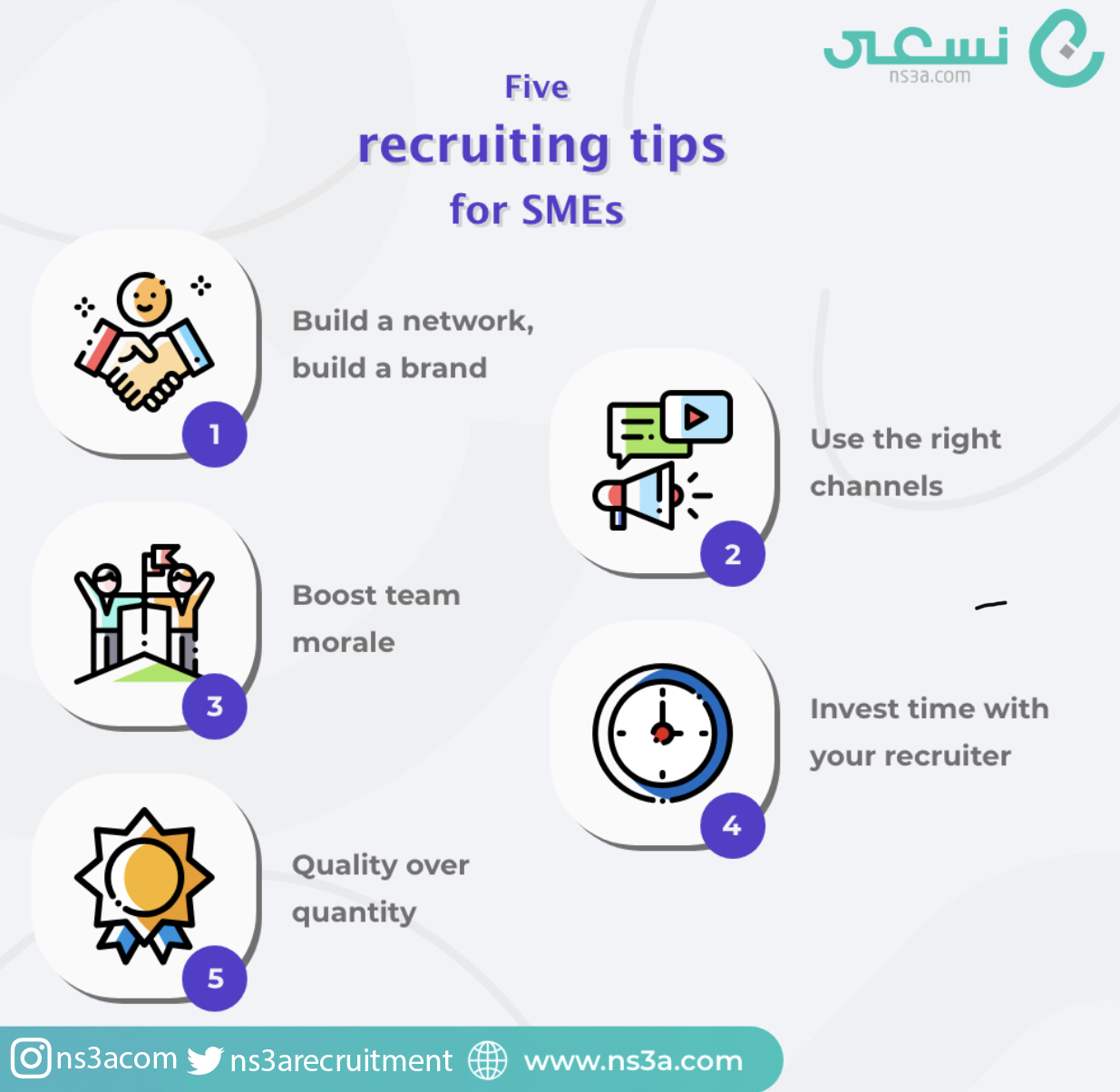 Five Tips in Hiring for SMEs