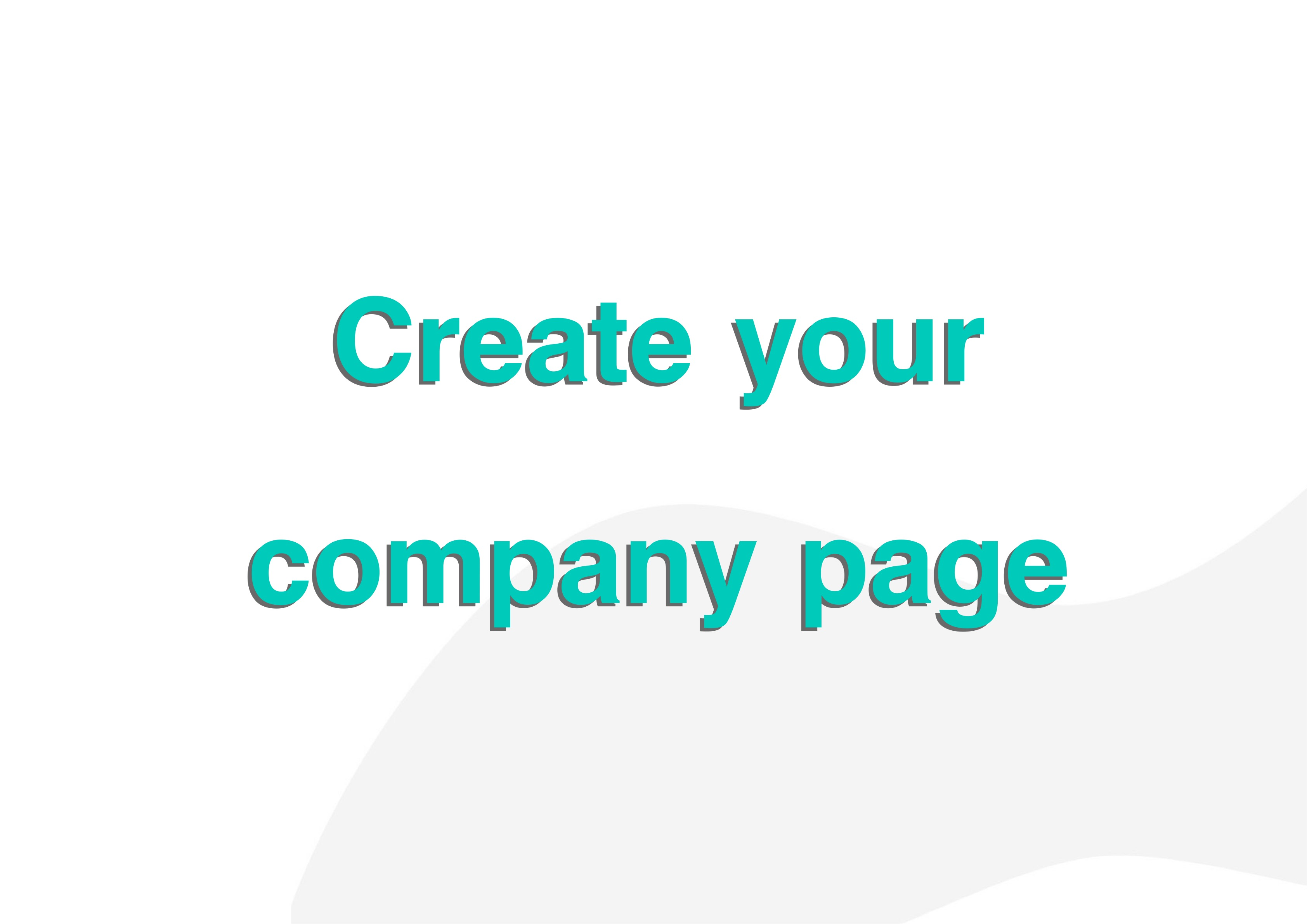 Create your Company's Page on Ns3a
