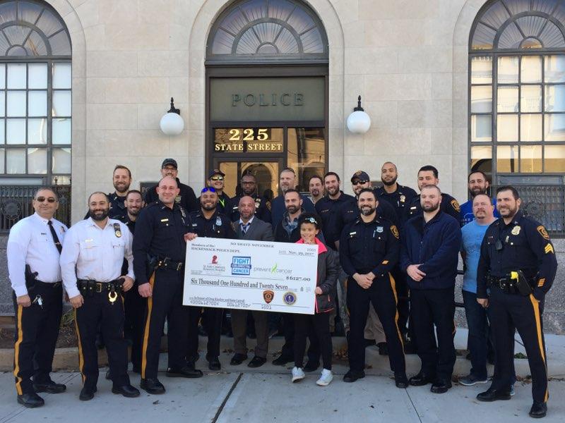 Hackensack NJ Police Dept. No Shave November 2017