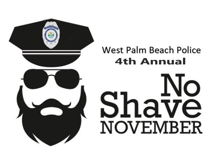 West Palm Beach Police Department No Shave November 2017