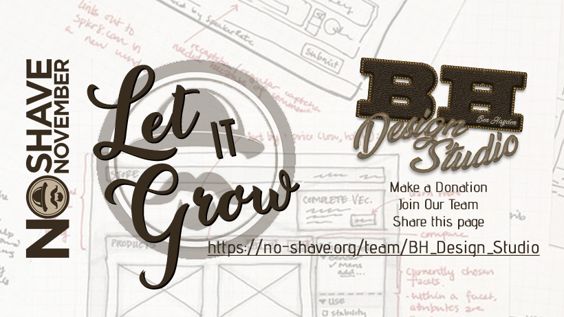BH Design Studio No Shave November 2017