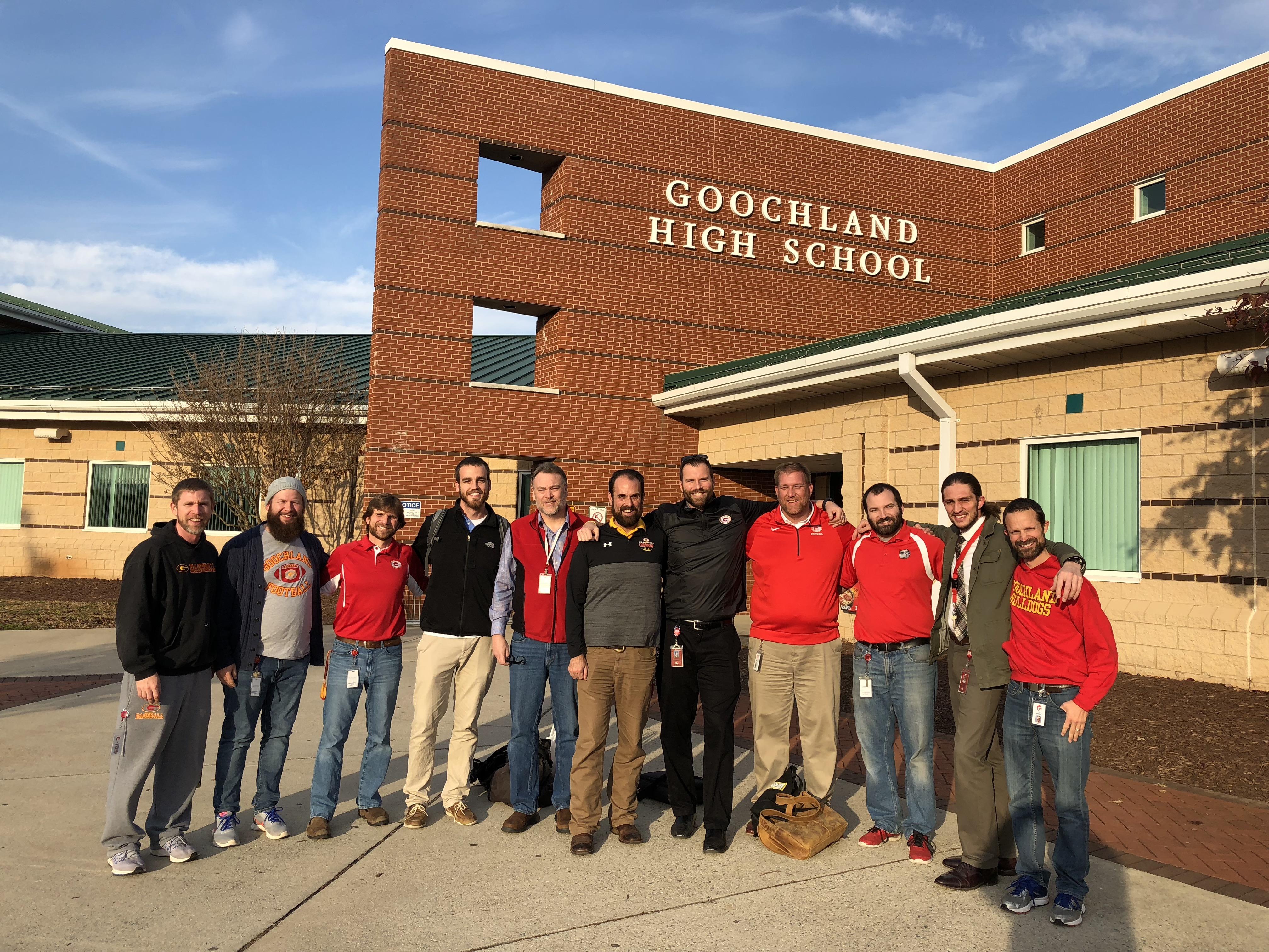 Goochland County Public Schools No Shave November 2017