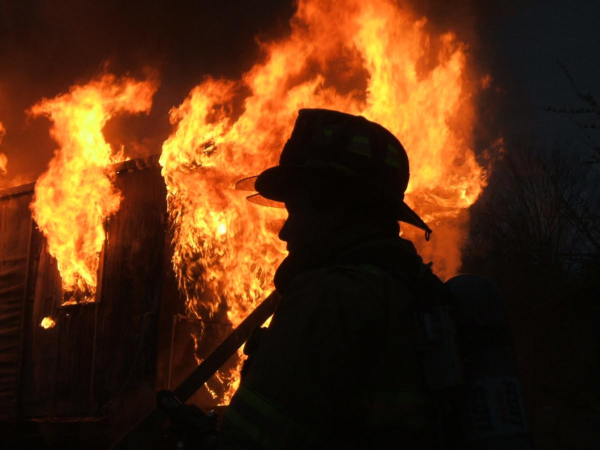 Manlius Fire Department No Shave November 2017
