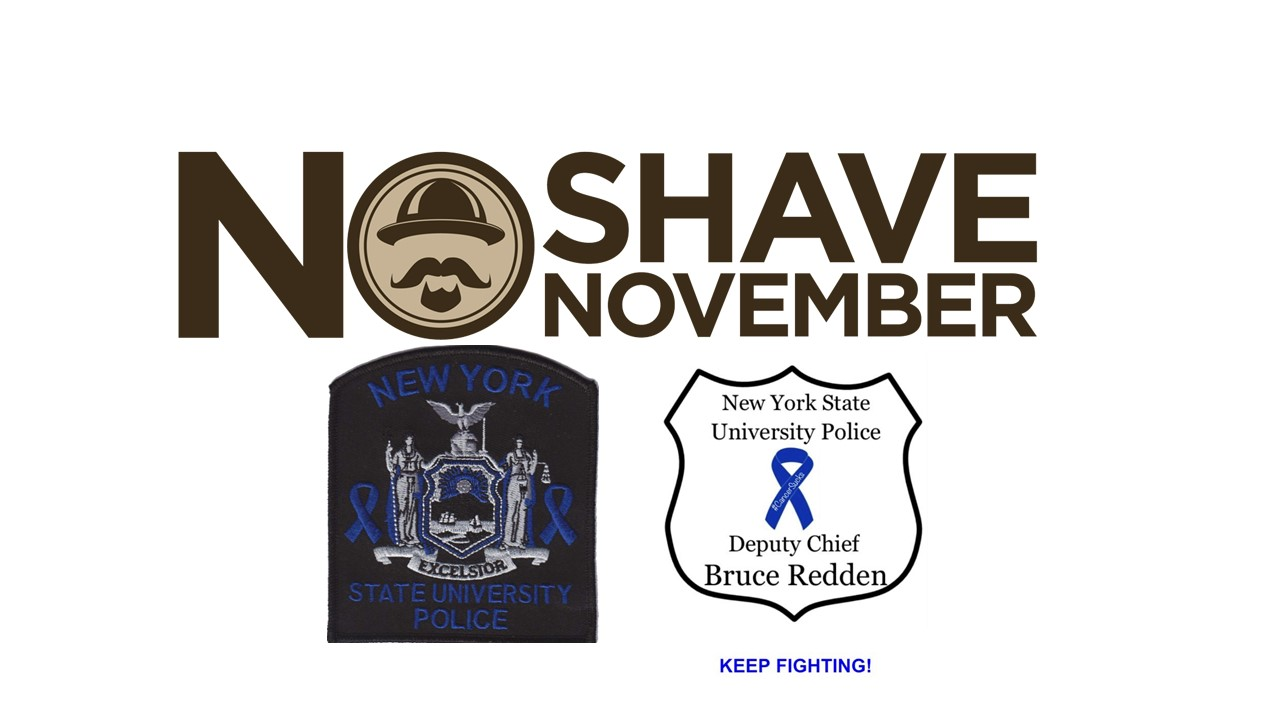 New York State University Police  No Shave November 2017