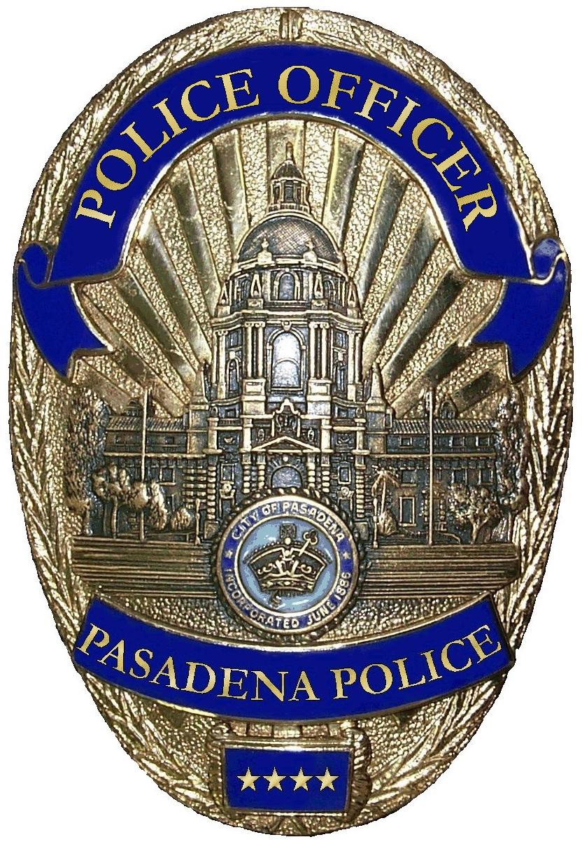 Pasadena Police No Shave November 2019