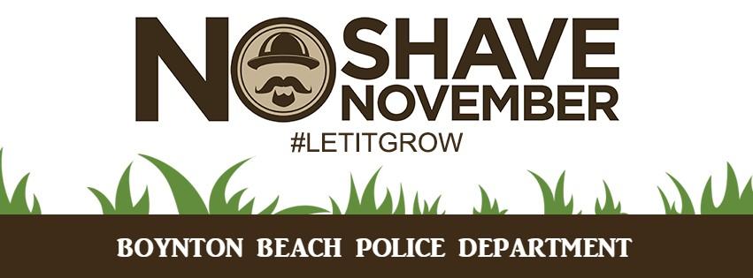 Boynton Beach Police Department No Shave November 2017