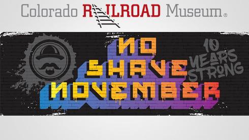 Colorado Railroad Museum No Shave November 2018