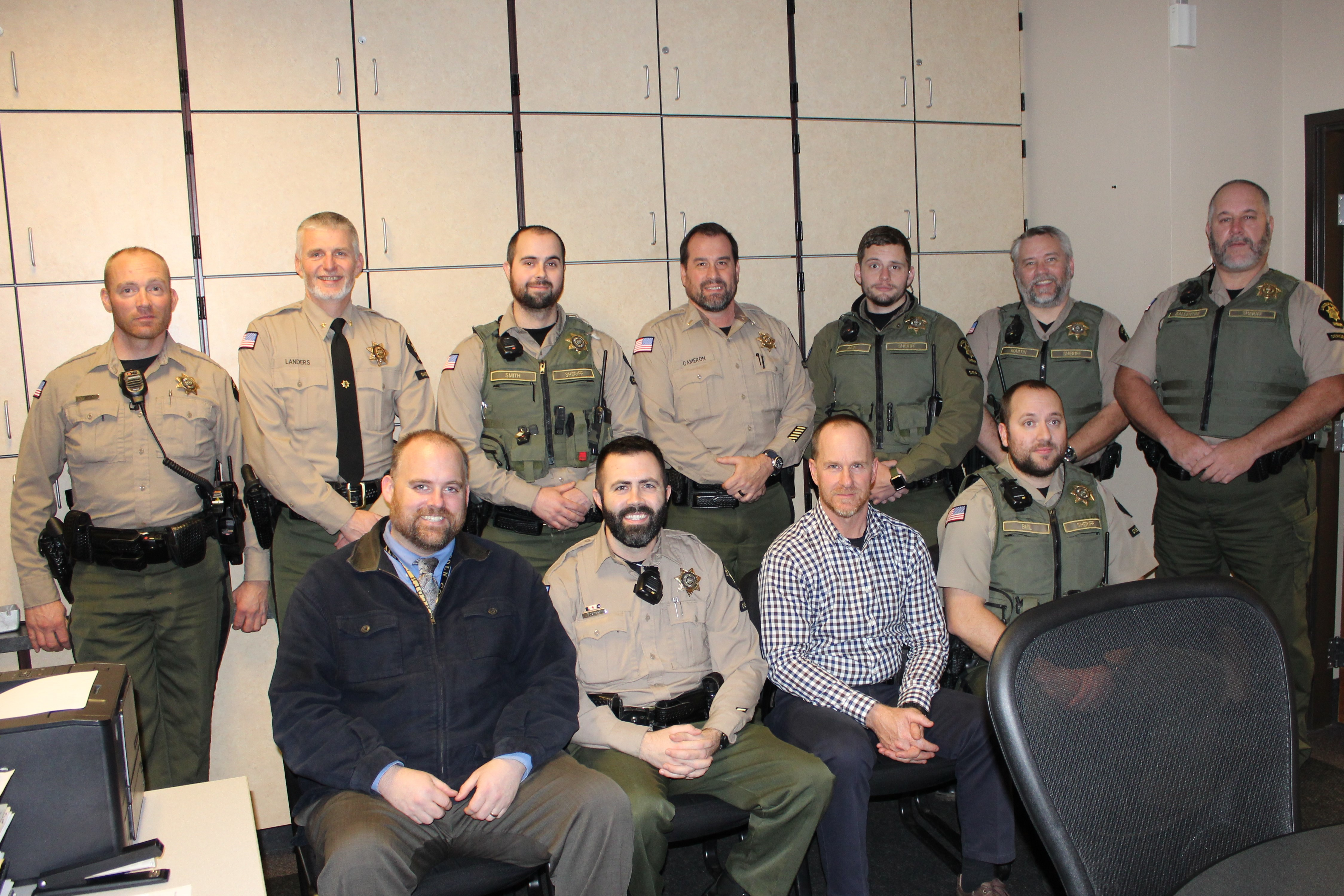 Lincoln County Sheriff's Office No Shave November 2019